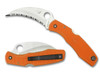 Spyderco Spyderhawk Salt Orange Limited Edition (C77SOR)