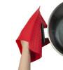 Kussi Silicone Trivet & Pot Holder Red (SLTRHL-RD)
