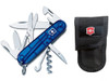 Victorinox Swiss Army Climber Sapphire with Pouch (59196)