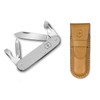 Victorinox Swiss Army Cadet Silver Alox with Pouch (53042P)