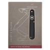 Victorinox Swiss Army Cadet Black Alox with Pouch (53044P)