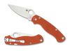 Spyderco Para Military 2 Orange CPM Rex 45 Sprint Run (C81GBORE2)