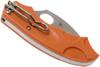 Spyderco Meerkat Burnt Orange Sprint (C64JPBORE)