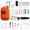 Black Tusk Survival Kit 23 in 1 Orange (SRVKT29-OR)