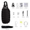 Black Tusk Survival Kit 12 in 1 Black (SRVKT12-BK)