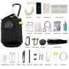 Black Tusk Survival Kit 23 in 1 Black (SRVKT29-BK)