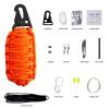 Black Tusk Survival Kit 12 in 1 Orange (SRVKT12-OR)