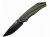 Black Tusk Trad Green Plain Edge (TRD-GN)