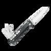 "Leatherman FREE""¢ K2X - Black, Plain Edge Blade (832658)"
