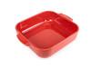 Peugeot Appolia Ceramic Square Baking Dish 28cm - Red (60176)