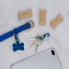 Nite Ize S-Biner TagLock  Aluminum  2Pk Blue (PLSBMA-03-2R6)