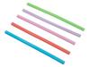 Lexngo Silicone Reusable Straws with Brush (FLXSTWBR)