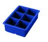 Tovolo King Cube Silicone Ice Cube Tray Capri Blue