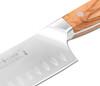 "Fusion Classic Olive 7"" Santoku Knife (9911-18)"