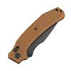 Black Tusk Tendu Plain Edge G10 Brown(TPG10BRN)