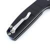 Kizer Gemini Black - Open pocket clip