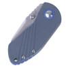 Kizer Contrail Blue - Closed handle