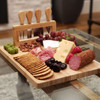 Savoir Cheese Board Set With Stand - party snacks