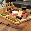 Savoir Cheese Board Set With Stand - wine and cheese charcuterie board