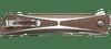 CRKT Crossbones Bronze - Closed pocket clip