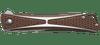 CRKT Crossbones Bronze - Closed front