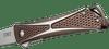 CRKT Crossbones Bronze - Open close up handle