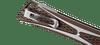 CRKT Crossbones Bronze - Open close up pocket clip