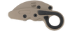 CRKT Provoke Desert Sand - closed pocket clip