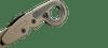 CRKT Provoke Desert Sand - Open close up pocket clip