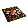 Kussi Non-Stick Mesh Grill Mat 2PC (MM8003-1) - with food