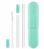 Final Touch GoSip Reusable Straw Glass Mint Green