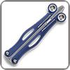 Spyderco BaliYo Wing Pen Dark Blue & Grey - Closed