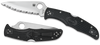 Spyderco Endura 4 Black FRN Serrated Edge