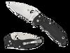 Spyderco Manix 2 Black G10 Combination Blade