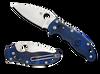Spyderco Manix 2 Translucent Blue FRN