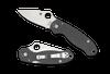 Spyderco Para 3 Dark Grey G10 Maxamet