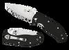 Spyderco Tenacious Black G10 Serrated