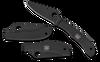 Spyderco HoneyBee Black Stainless Steel
