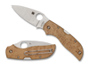 Spyderco Chaparral Maple