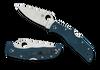 Spyderco Endela Blue FRN K390