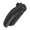 Kizer Sheepdog C01C Black Carbon Fiber  - closed, pocketclip