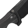 Kizer Sheepdog C01C Black Carbon Fiber  - open, flippper