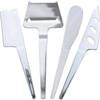 Swissmar Slim-Line Cheese Knife Set 4PC