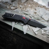 SOG Trident AT Black & Red Tanto - lifestyle