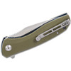 CIVIVI Baklash Green G10 (C801A) - closed pocket clip