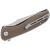 CIVIVI Baklash Tan G10 (C801B) - closed pocket clip