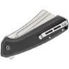 CIVIVI Bullmastiff Black G10 (C2006C) - closed pocket clip
