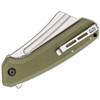 CIVIVI Bullmastiff Green G10 (C2006A) - closed pocket clip