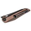 CIVIVI Mckenna Black Stonewashed Copper (C905DS-3) - closed pocket clip