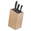 Wusthof Scandinavian Beech Knife Stand (7272-1) - with knives